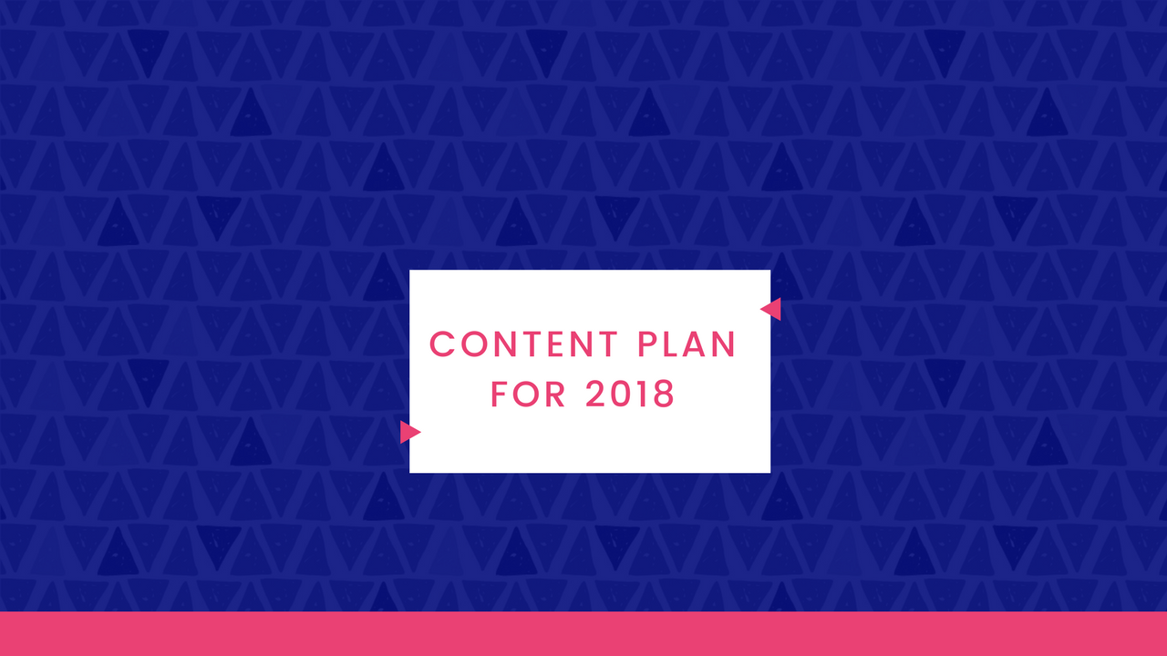 Natalie Live – Content Plan For 2018