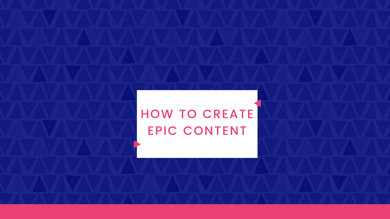 Natalie Live – How To Create Epic Content